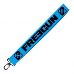Keyring Freegun Bleu et noir