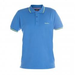 Polo Pierre Cardin Bleu Liseret Vert