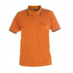 Polo Pierre Cardin Orange Col Liseret Marine