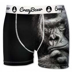 Boxer Homme En Microfibre Crazy Boxer