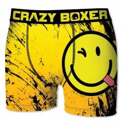 Boxer microfibre Homme CRAZY BOXER