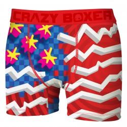 Boxer Homme Flag CRAZY BOXER