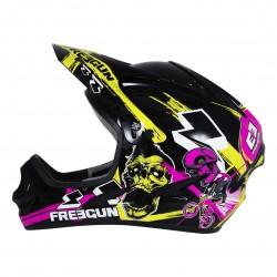 Casque de moto BMX noir FREEGUN