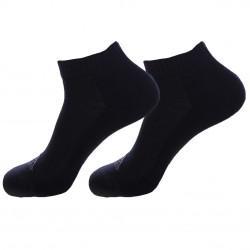 Lot de 2 paires de Chaussettes coton bouclette KAPPA noir