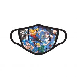 Masque Tissu Lavable en trois couches Anime Petite Taille