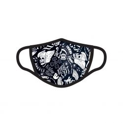 Masque Tissu Lavable en trois couches Hell Grande Taille