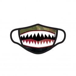 Masque Tissu Lavable en trois couches Shark Petite Taille
