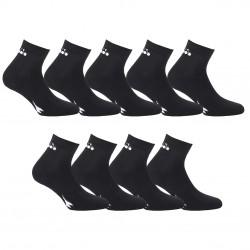 Lot de 9 paires de Lowcuts Diadora 9355 Noir