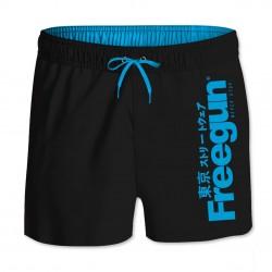 Boardshort Court Freegun garçon ceinture élastique Logo