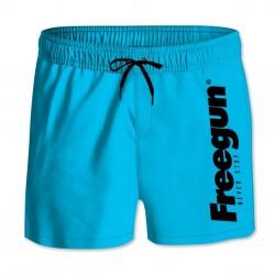 Boardshort Court Freegun homme ceinture élastique