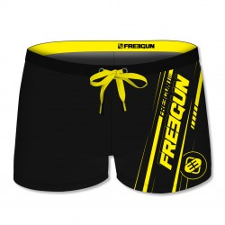 Boxer de bain homme uni avec logo