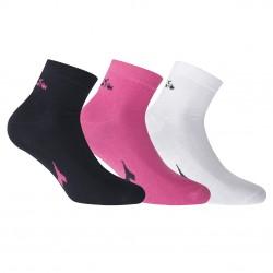 Lot de 3 Paires de Chaussettes Socquettes D9355