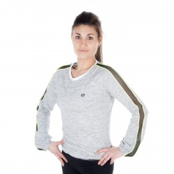 T-shirt manches longues Femme Uni