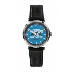 Montre Discovery Bleue