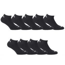 Lot de 9 paires chaussettes tiges courtes Homme Diadora Noires