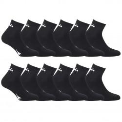 Lot de 12 paires chaussettes Lowcut Homme Diadora Noires