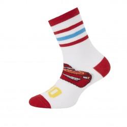 Paire de chaussettes fantaisies rayées garçon Flash McQueen