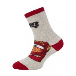 Paire de chaussettes fantaisies unies garçon Flash McQueen