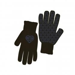 Paire de gants Fille Logo Violet