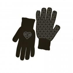 Paire de gants Fille LOGO Gris