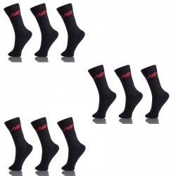 Lot de 9 chaussettes noire NEWBALANCE 35/38