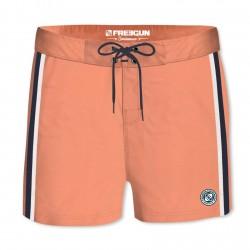 Boardshort Court Homme Band Uni Orange