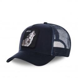 Casquette Baseball Goorin Bros Wolf Bleu Foncé