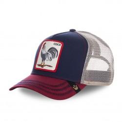 Casquette Baseball Goorin Bros All American Rooster Bleu