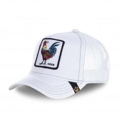 Casquette Baseball Goorin Bros Cock Blanc