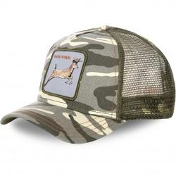 Casquette Baseball Goorin Bros Duck Ferver Camouflage
