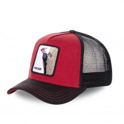 Casquette Baseball Goorin Bros Pecker Rouge et Noir