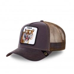 Casquette Baseball Goorin Bros Tiger Marron